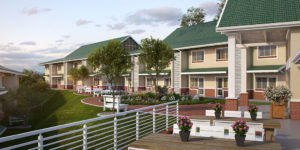 residential view of Mount Edgecombe Retirement Village