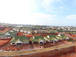 Construction progress for Mount Edgecombe Retirement Village
